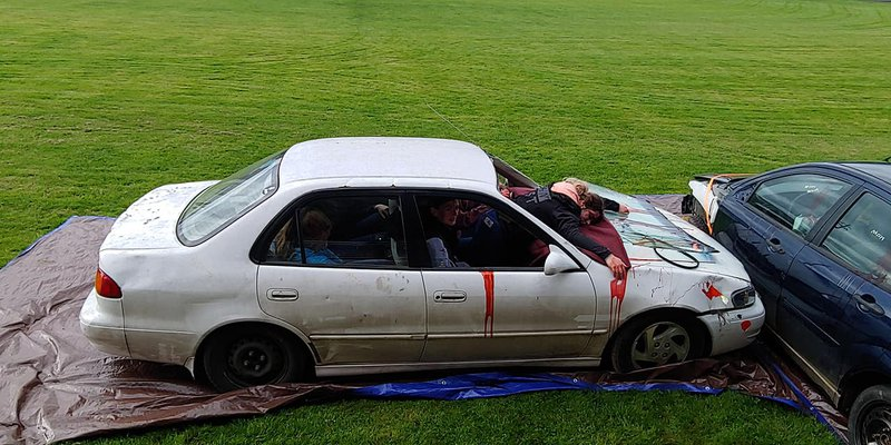 Mossyrock Mock Crash